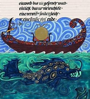 Globine nezavednega, ilustracija Carl Jung iz Rdeče knjige
