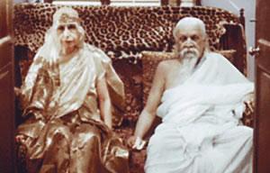 Šri Auribindo in Mati - eden največjih duhovnih parov 20. stoletja.