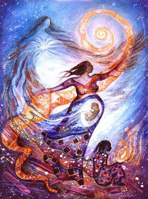 pregnant-goddess
