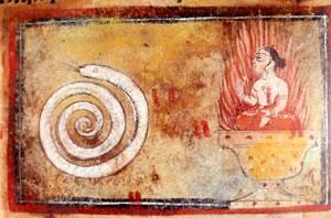 woman-snake